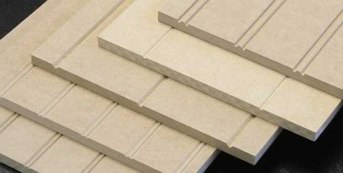 V-Grooved Sheet in Raw MDF