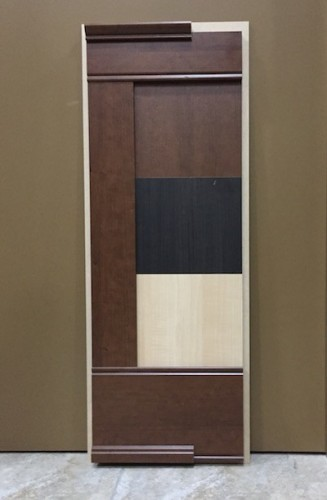 Deluxe Prefinished Wainscoting Sample